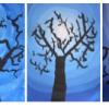 Silhouette arbre (dégradés)