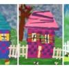 Maisons en collage