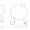 Drôles de personnages à colorier