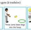 Images pour postes de gym