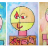 Paul klee (Senecio)-portrait