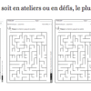 Labyrinthes par niveaux