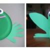 Bricolage grenouille