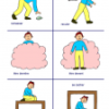 Images verbes d'actions