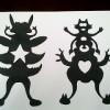 Silhouette insecte
