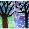 Les arbres (arts visuels)