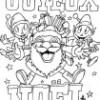 Coloriages «Joyeux Noël»