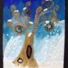 Arbre selon Klimt en hiver