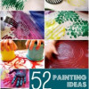 52 idées pour peindre