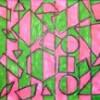 Formes dans dessin abstrait