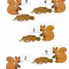 Jeu, ateliers des écureuils