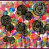 Arbres à la manière d'Hundertwasser …