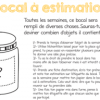 Le bocal à estimation
