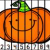 Puzzles nombres 1 à 10 Halloween