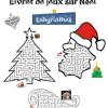 Livrets / cahiers de jeux de Noël