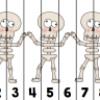 Puzzles numération «Halloween»
