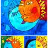 La lune et le soleil