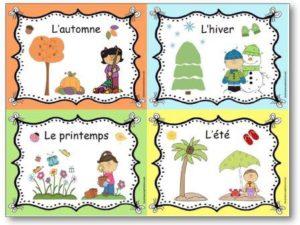 apprendre-les-4-saisons-en-maternelle-affichage-des-quatre-saisons