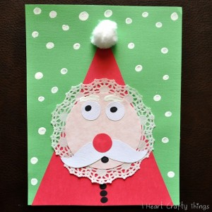 Kids+Santa+Craft