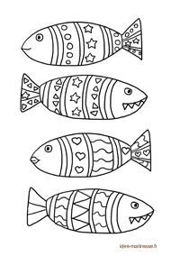 coloriage-poissons