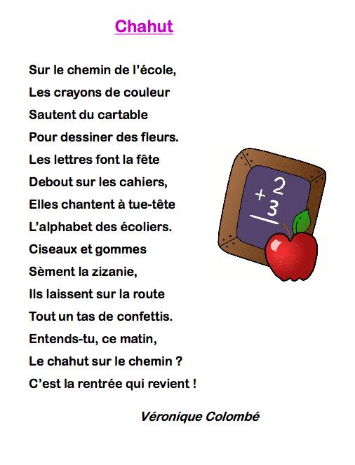 poésie la rentrée pierre ruaud