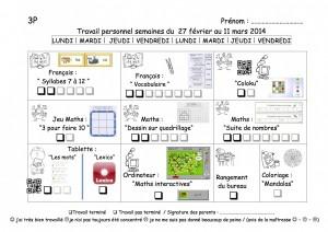 plan de travail 3P-9
