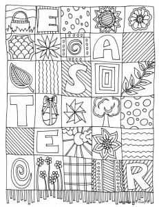 Coloriage De Paques En Anglais.Coloriages De Paques