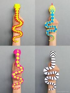 finger-snakes