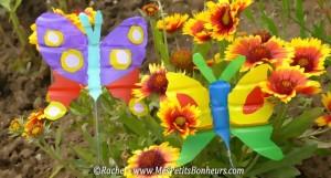 papillons-vert-et-violet
