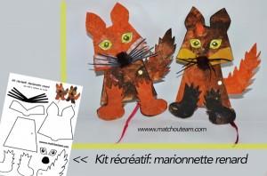 marionnette+renard