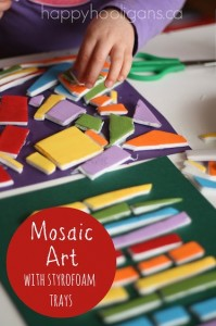 mosaic-art-with-styrofoam-meat-trays