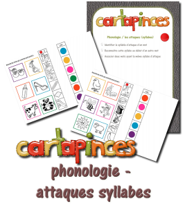 cartapinces phono attaque